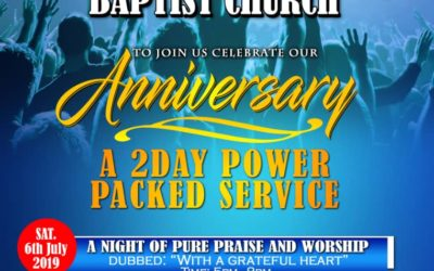 Winchmore Hill Baptist Church Anniversary