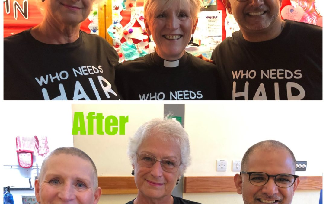 They Braved the Shave!